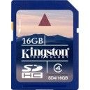 Kingston 16GB SDHC Class 10 Secure Digital Flash Memory Card